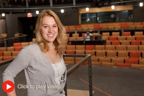 click to play Communication Arts Department Spotlight Video