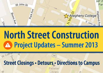 North St Construction Updates - Summer 2013