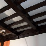 Ceiling Woodwork in the future Board Room