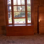 Sample finished window in the future Dining Room