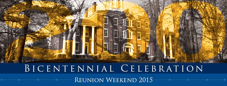 Reunion Weekend 2015