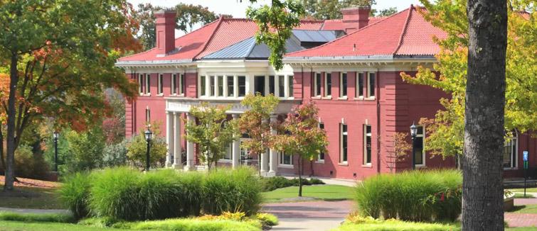 Patricia Bush Tippie Alumni Center in Cochran Hall