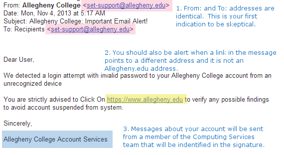 Is it phishing?