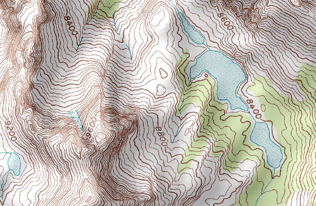 Topographic Maps Creek Connections Allegheny College - Topographical map of pa
