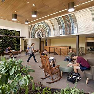 Carr Hall Lobby