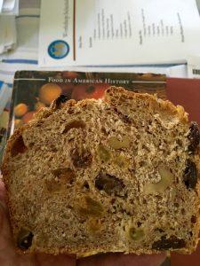 Raisin Walnut Bread