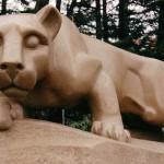 The Penn State mascot.