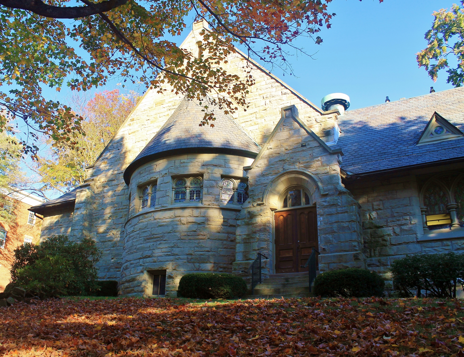 Chapel Allegheny College Meadville Pennsylvania ~ c1910