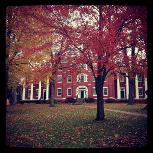Fall at allegheny