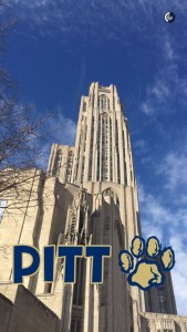 At the University of Pittsburgh