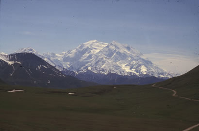 Denali National Park - view of Denali