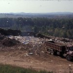 Active landfill in western NY