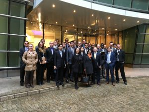 Allegheny Economics Students, Faculty & Staff Complete a Tour of Bloomberg during 2016 Major City Trip