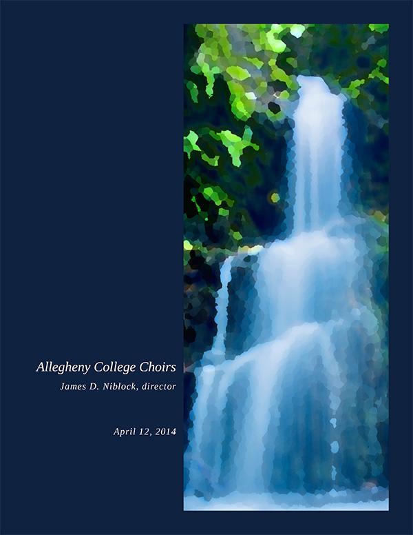 AlleghenyCollegeChoirProgram-Spring2014-1