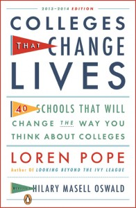 Colleges That Change Lives book cover