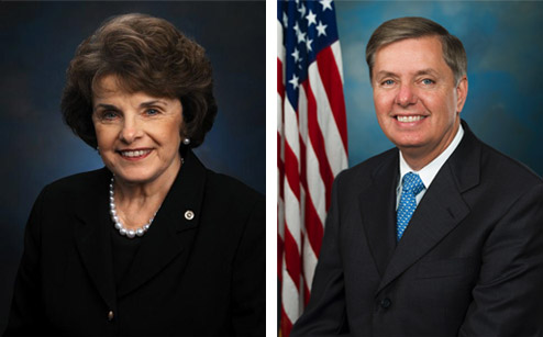 Dianne Feinstein and Lindsey Graham Civility Award