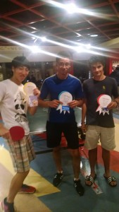 Ping Pong Tournament Winners