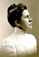 The portrait of Ida Tarbell which hangs in the National Women's Hall of Fame