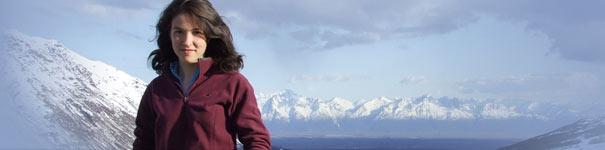 girl in Alaska