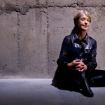 "Suzanne Lacy. Photographed in the ""Tanks"" at Tate Modern"