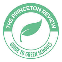 Logo of the Princeton Review - Guide to Green School