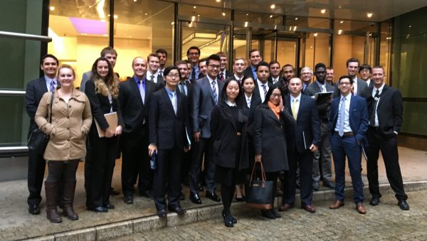 Allegheny Students Visit Bloomberg Central Offices in New York City