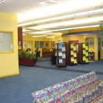The Maytum Learning Commons located in the library.
