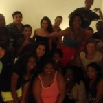 Too many people at the party to even fit them all into one blog pic!