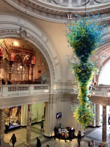 A Victoria and Albert Museum Entryway
