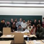 My japanese grammar class this semester!