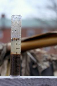 Soil test tube