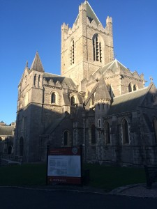 The Christ Church Cathedral in Dublin