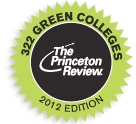 The Princeton Review: 322 Green Colleges 2012 Edition