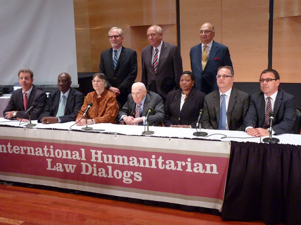 The International Humanitarian Law Dialogues, hosted by the Robert H. Jackson Center, are regularly attended by Allegheny students and faculty. It is one of the only opportunities for the prosecutors of international criminal tribunals to gather annually.