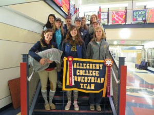 Allegheny College Equestrians Named Reserve Champion High