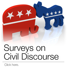 Surveys on Civil Discourse