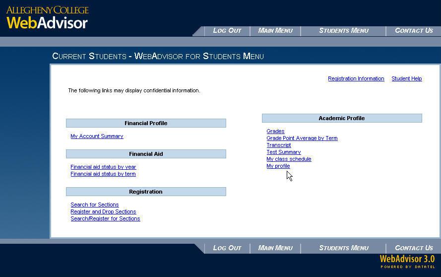 make my class schedule