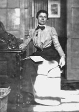 Ida Tarbell Sitting