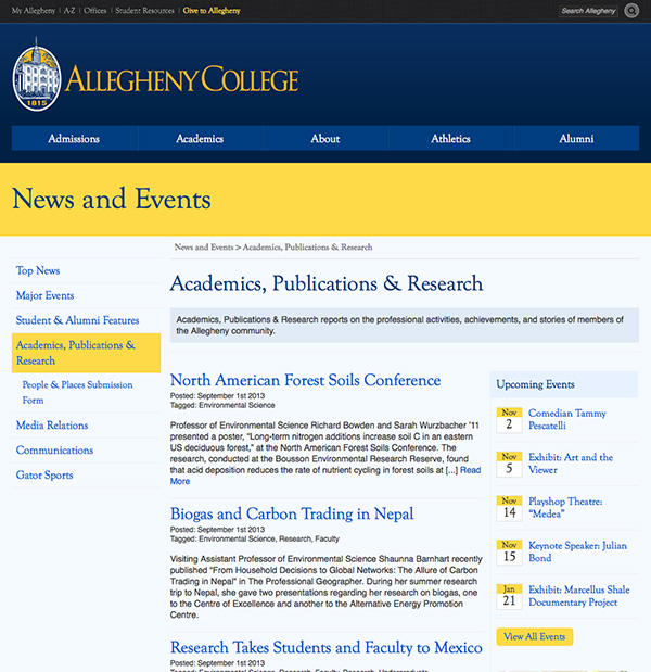 Academics, Publications and Research